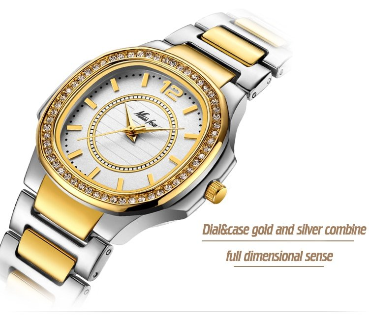 Women's Watch with Diamonds