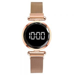 luxury digital magnet watches